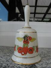 CLOCHE PORCELAINE FRANKLIN POPPY 13 cm de haut