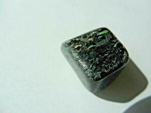 25x18x15mm-RARE-GENUINE-NATURAL-TUMBLED-NUUMMITE-17-58g-GREENLAND-Orgone-122