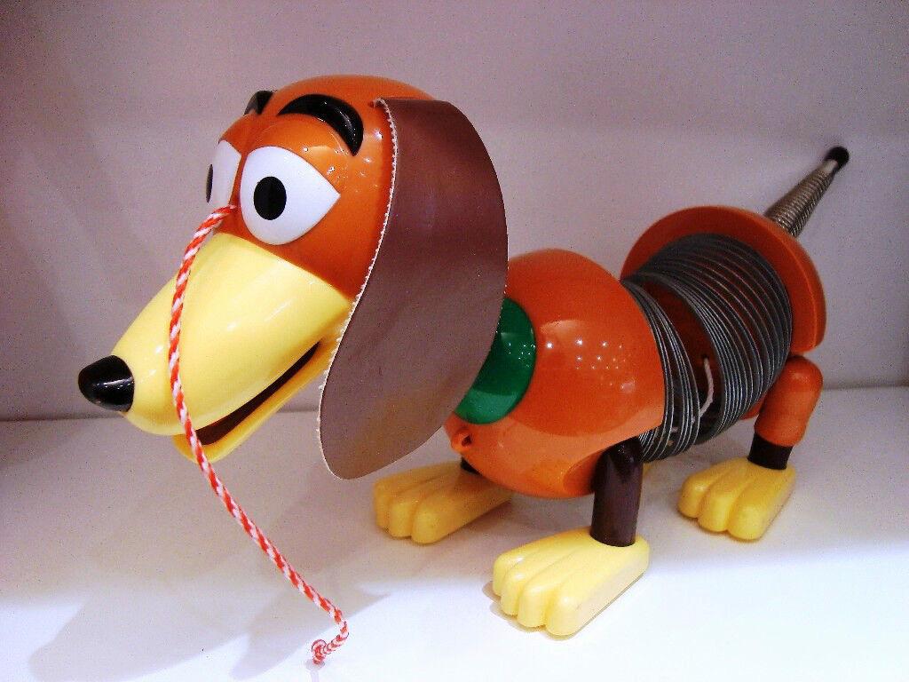 Spielzeug Hund Hund Zig Zag oder Slinky Hund Toy Story