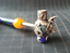 thumbnail 9 - Chinese Collection Handmade tibet-silver Cloisonne inlay monkey lion dragon Pipe