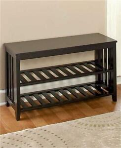 White Black Or Walnut Hallway Entryway Bench And Shoe Storage In One Ebay,Diy Christmas Decorations For Your Room