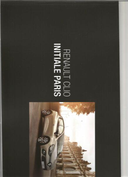 Catalogue Brochure Katalog Prospekt Renault Clio 4 Initiale 30 Pages Annee 2015 Acquista Sempre Bene