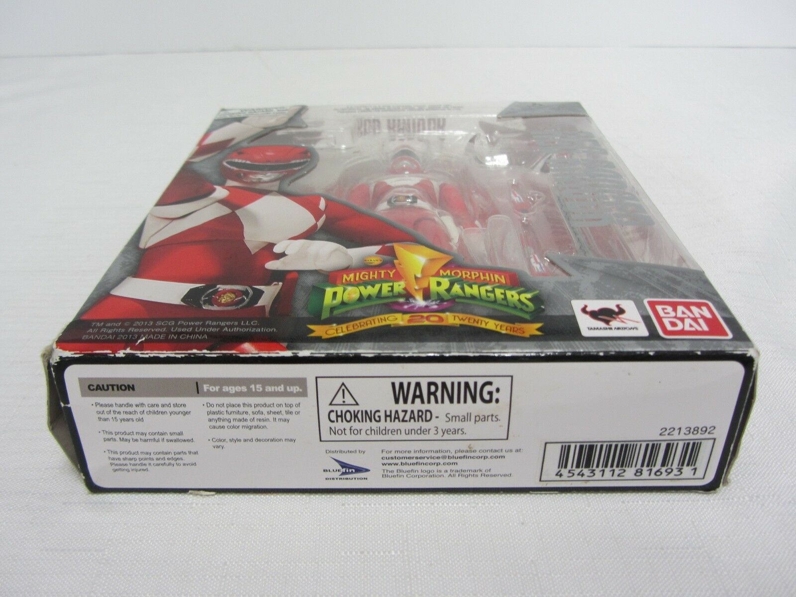 ROT Ranger  Power Rangers Rangers Rangers Bandai 20th Anniversary 2013  Opened 89d2bb