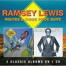 Routes/Three Piece Suite by Ramsey Lewis (CD, Nov-2013, Robinsongs)