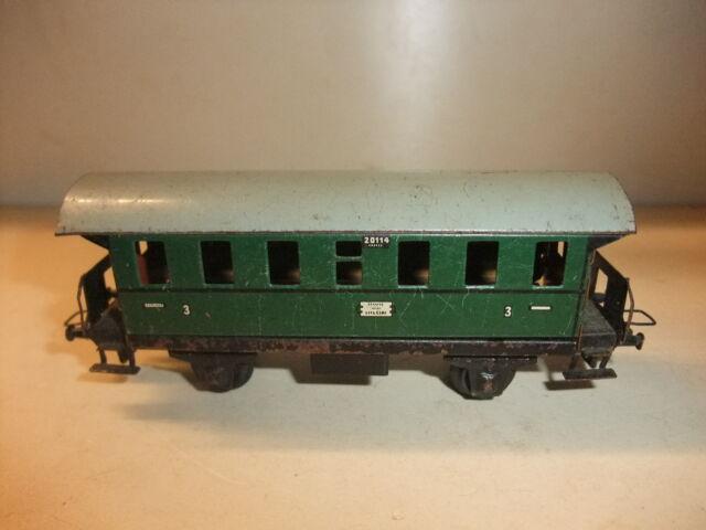 x K/3/15 Modelleisenbahn Eisenbahn H0 Trix Oldtimer Personenwagen Donnerbüchse