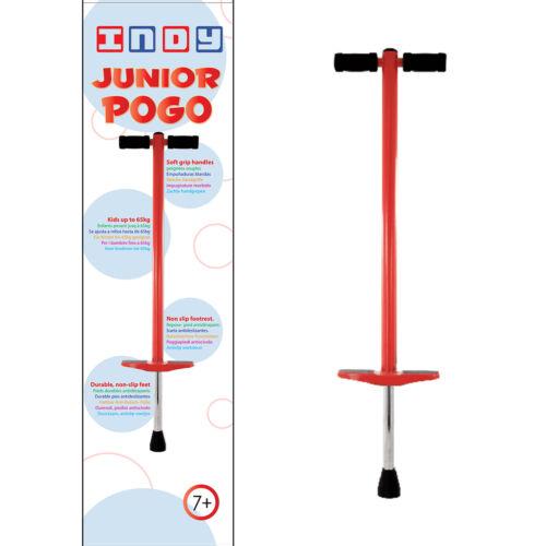 PoGo - RED model Indy Junior Jumping Po-Go Stick For Children