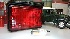 Land Rover Serie 3 Defensor OEM genuino LEP prc2516 Led período Trasero Luz De Niebla