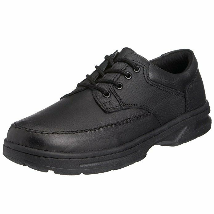 Mens Boys New Dr Keller Brian Leather Black Comfort Work School shoes UK 6 - 12