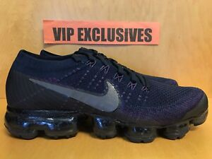 4179053629d Image is loading NikeLab-Air-VaporMax-Flyknit-College-Navy-Dark-Grey-