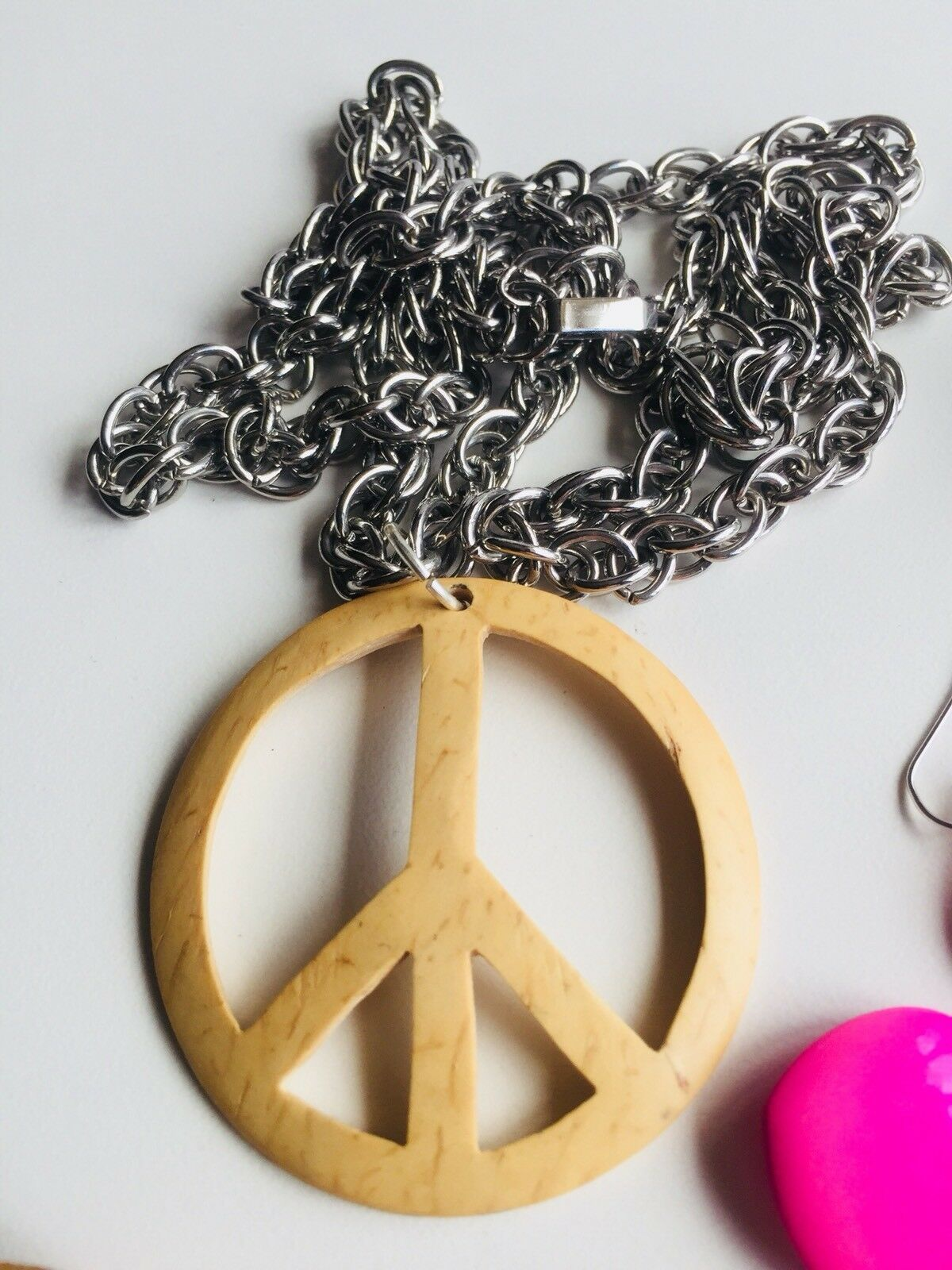 Vintage 1960's Flower Power Woodstock Hippie Comm… - image 7