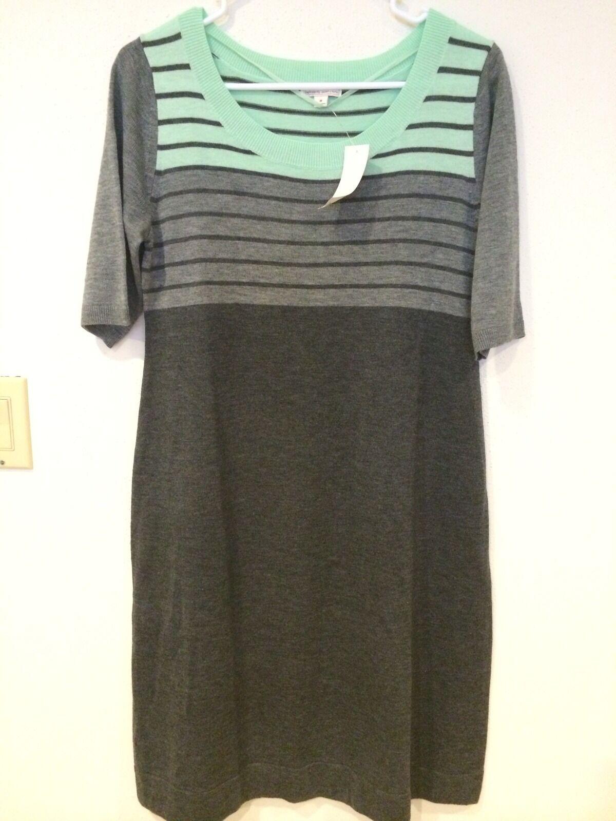 NWT Gap maternity striped wool  dress size M