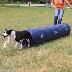 Trixie-Agility-tunnel-Small-Dog-Blue-Width-40-cm