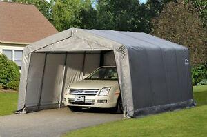ShelterLogic 12x16 Storage Shelter Shed Portable Garage ...