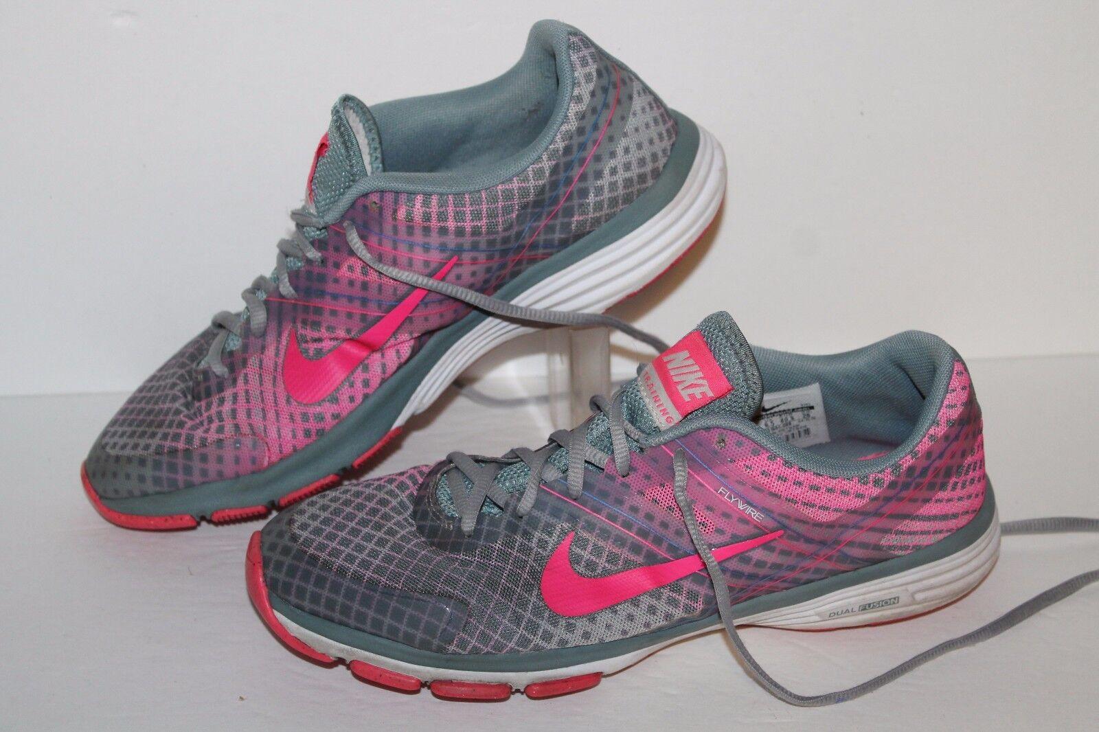 Nike doppia fusione tr2 impronte di scarpe da corsa, grigio   rosa, le donne noi 9 | Ottima qualità  | Uomini/Donne Scarpa