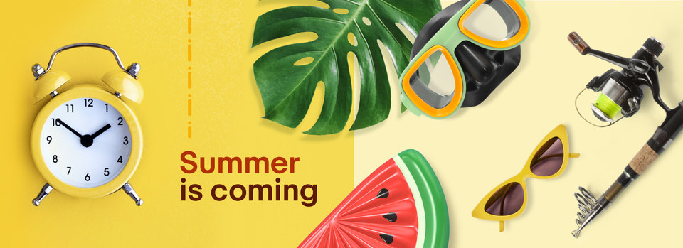 Shop summer now - Brace yourselves: Summer is coming