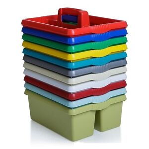 Image is loading Wham-Colourful-Plastic-Handy-Kitchen-Cleaning-Tool-Utility-  sc 1 st  eBay & Wham Colourful Plastic Handy Kitchen Cleaning Tool Utility Caddy ...