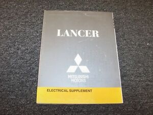 2008 Mitsubishi Lancer Sedan Electrical Wiring Manual ...