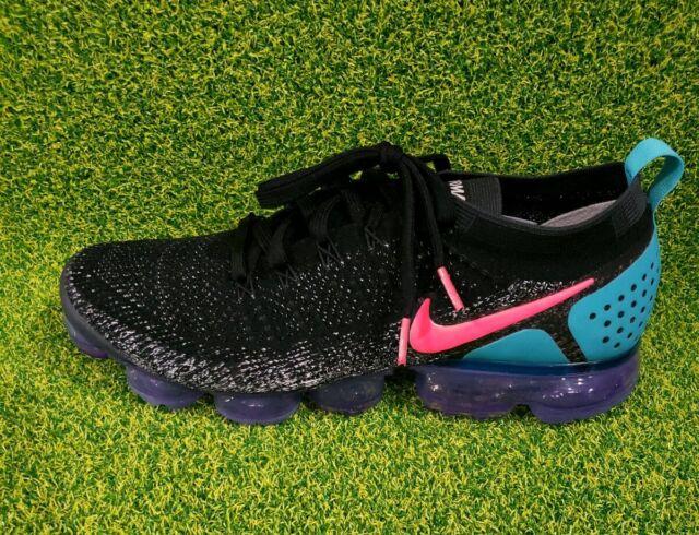 size 40 15f0a b49bb Nike Air Vapormax Flyknit 2 Black Hot Punch White 942842-003 Men's Size 11