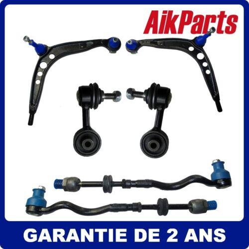 Kit Bras de Suspension Avant Gauche Droite 6pcs Pour BMW E36 320i Z3 90-99