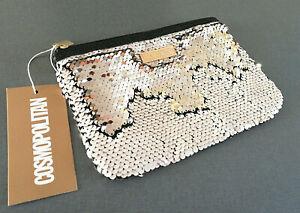 Cosmopolitan-Damen-Handtasche-Wendepailetten-Clutch-Kosmetiktasche-MakeUp-Tasche
