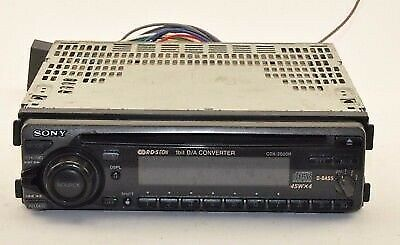 Sony CDX 2500R, CD/Radio