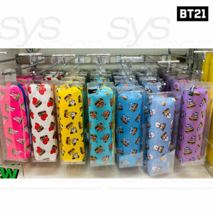 BTS-BT21-Official-Authentic-Goods-Pencil-Case-BITE-Ver-200x45x50mm-Tracking