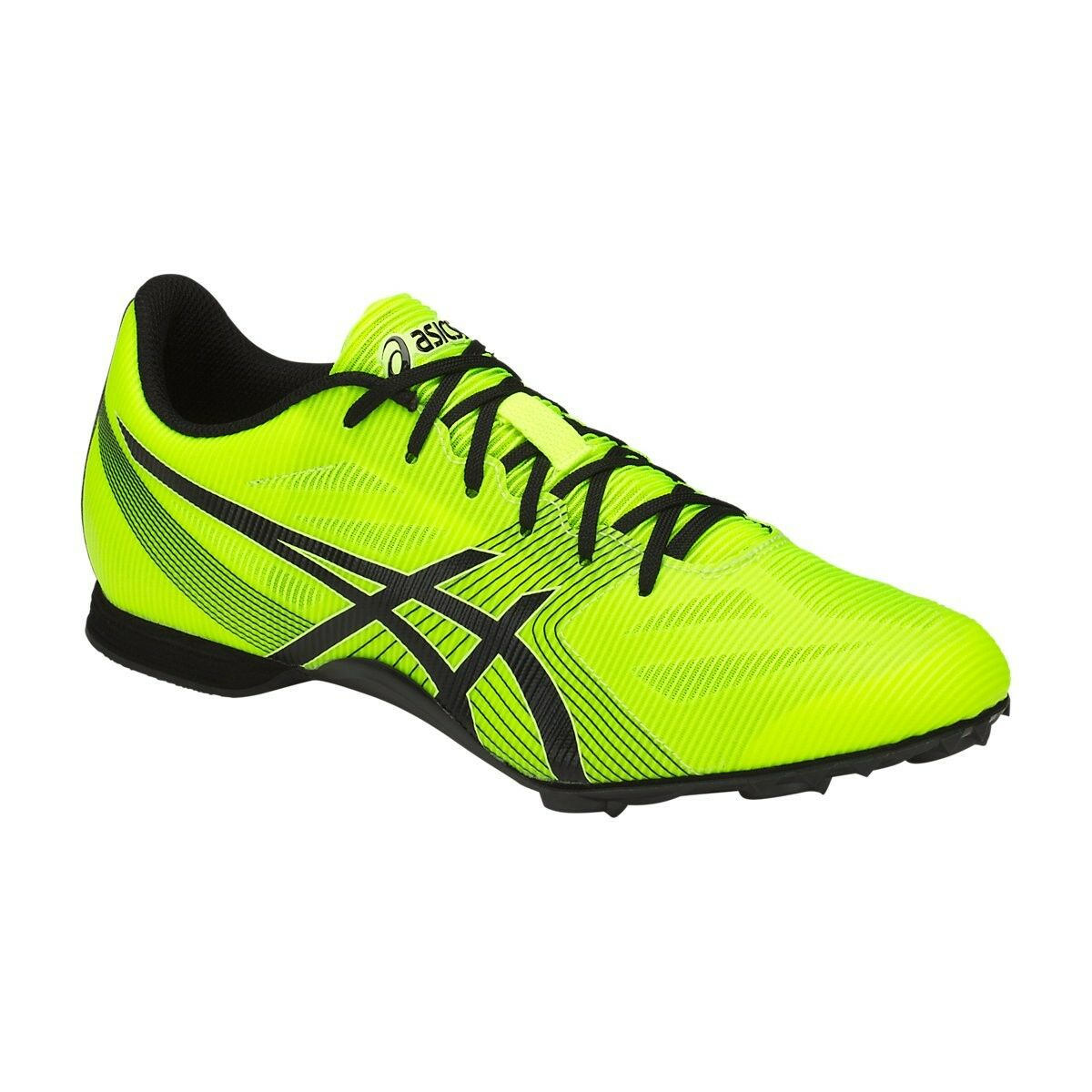 Asics HYPER MD 6 hommes G502Y.0790 Yellow/ noir Track/Field Chaussures