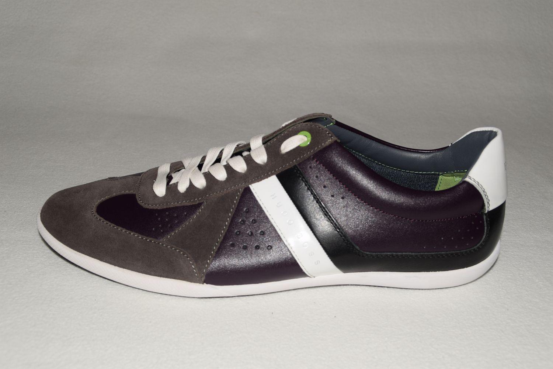 HUGO BOSS GREEN SNEAKER, Gr. EU 43 / / UK 9 / 43 US 10, Dark Purple f40130