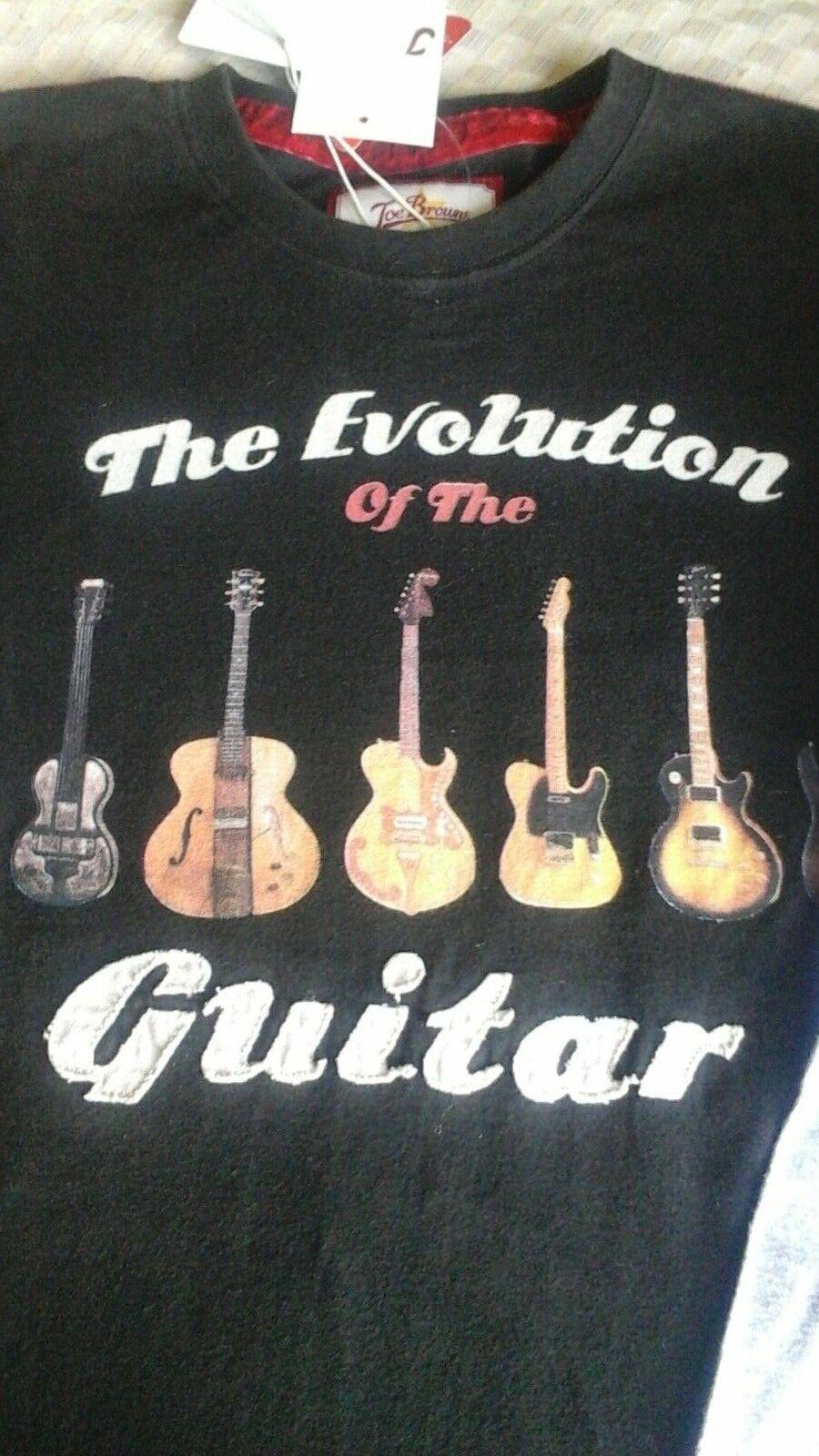 Joe Browns Layered T Shirt Guitar Evolution Nwt