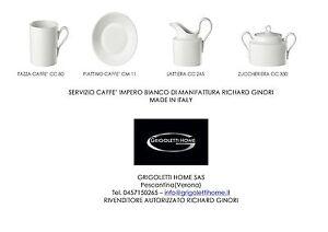 Richard-Ginori-Impero-White-service-Coffee-14-pieces-x-12-persons-Dealer