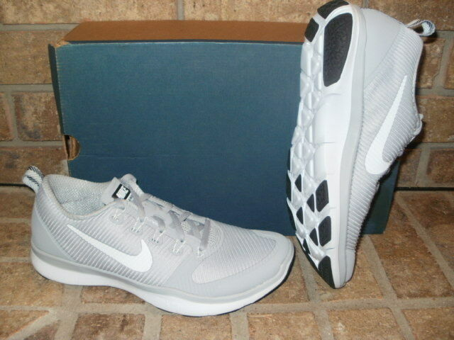 New Nike Free Train Versatility Training Shoe 833257 001 Gray-White MSRP 100