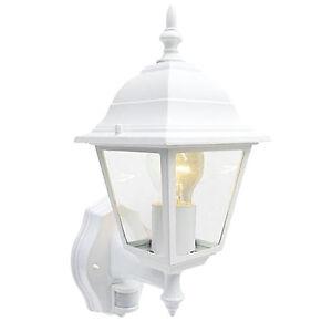 Pir sensor security light white coach lantern movement detecting image is loading pir sensor security light white coach lantern movement aloadofball Gallery