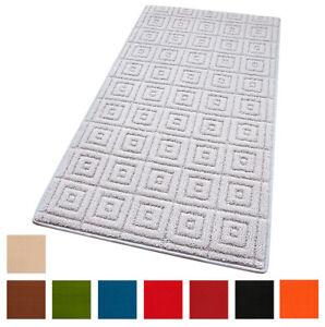 Tappeto-cucina-antiscivolo-tessitura-3D-moderno-passatoia-bordata-bagno-elegante