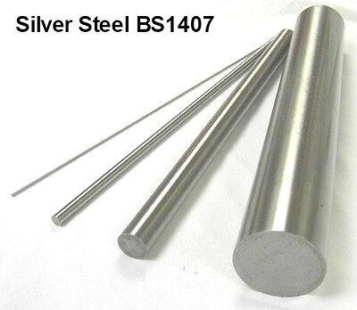 "5 8 RDGTOOL 5PC SILVER STEEL BAR 4 6 10 DIAMETER 13/"" LONG MODEL ENGINEERING"