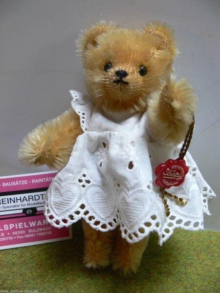 HB HB HB 31 Hermann Bamberg Teddy mit Kleid ca.15 cm limitiert Karton m.Lagerspuren 4cd1f8