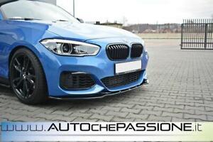 Splitter-Spoiler-anteriore-per-BMW-Serie-1-F20-2015-gt-restyling-facelift-lama-lip