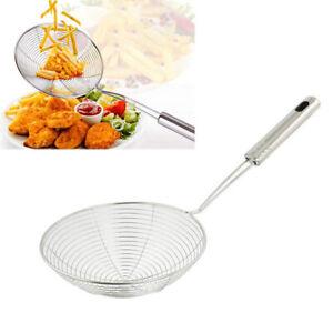 Stainless-Steel-Frying-Food-Spoon-Colander-Strainer-Filter-Kitchen-Tool-Nett