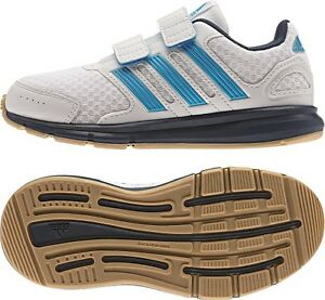 best website 8b635 5e79c Das Bild wird geladen Adidas-lk-Sport-CF -Kinderschuhe-Klettverschluss-Indoor-Laufschuh-