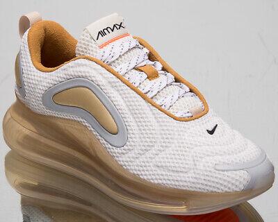 Nike Air Max 720 Blass Vanille Herren Weiß Freizeit Lifestyle Sneakers | eBay