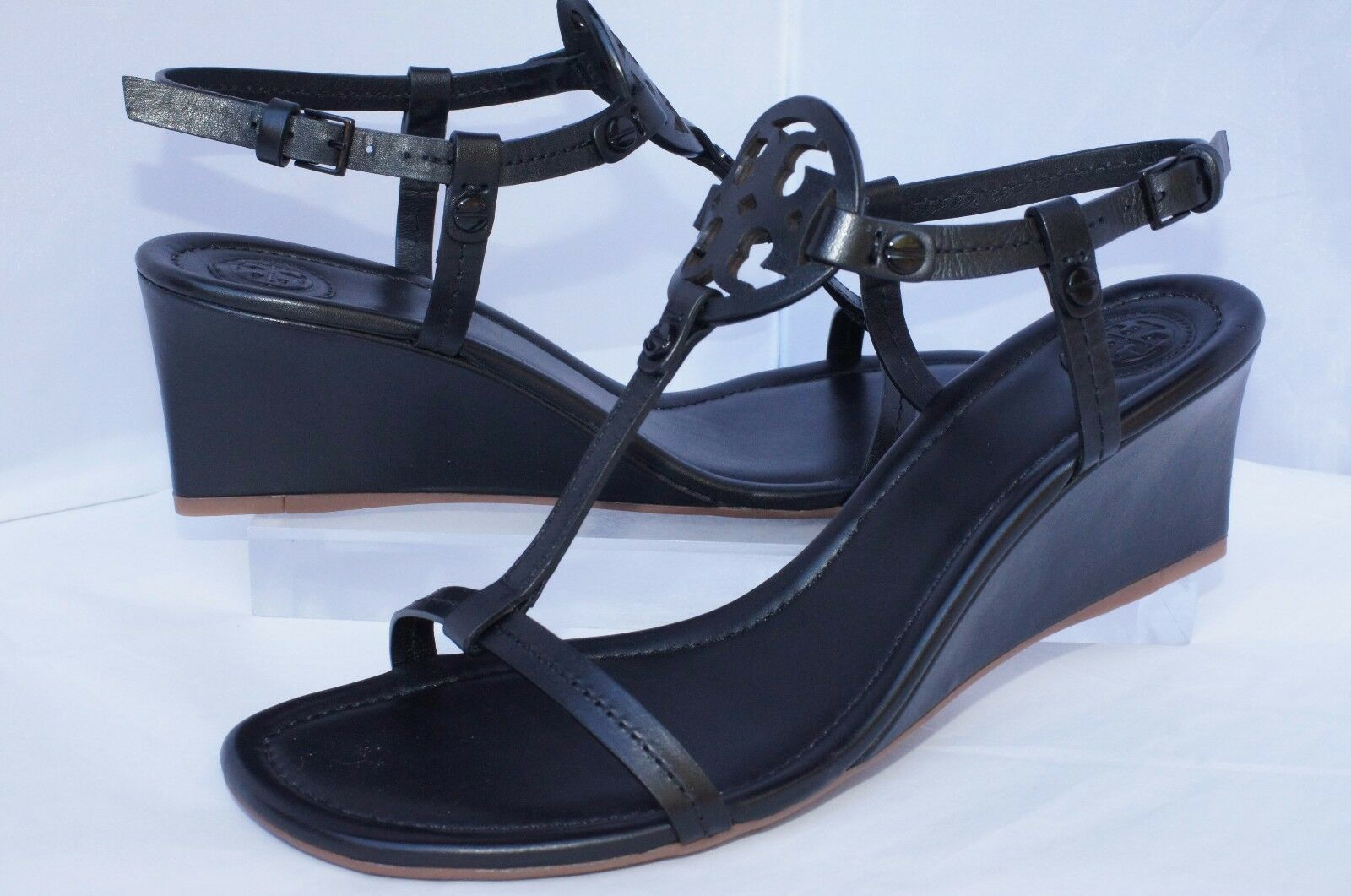 Tory Burch Miller Wedge Sandals Size