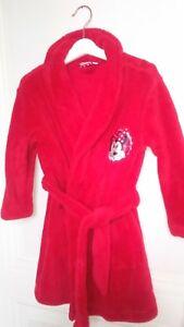 Robe De Chambre En Polaire Chaude Douce Fille Disney Minnie 4 Ans Idee Cadeau Ebay