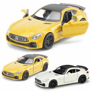 1-36-Mercedes-Benz-AMG-GT-R-Sportwagen-Metall-Die-Cast-Modellauto-Auto-Spielzeug