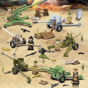 6pcs-set-Militaer-Kanone-Waffen-Bausteine-mit-WW2-Soldaten-Armee-Figuren-Bricks