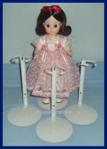"3 White KAISER #2501 Doll Stands for 14/"" /& 16/""  Madame Alexander Effanbee Dolls"