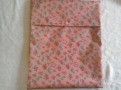 Pink Flower Nappy Bag Reusable Nappy Bag Washable Nappy Bag