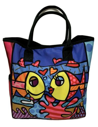 Romero Britto Deeply In Love Pop Art  Fish Womens