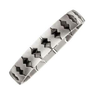 MAGNETIX-Armband-fuer-Herren-Schwarz-4554-Kupfer-Breite-12mm-Magnetschmuck