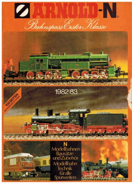 Arnold Spur N: Gesamtkatalog 1982 / 1983, Deckblatt beschädigt