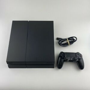 Sony-PlayStation-4-500-GB-Jet-Black-Console-Model-CUH-1215A-PS4