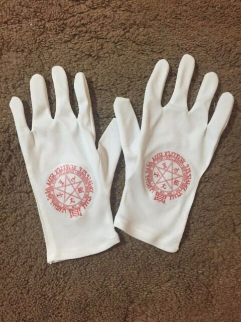 Hellsing Cosplay RED Alucard Gloves for your Costume (NO CUFF)